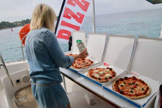 Bateau Pizza Iles de Lérins