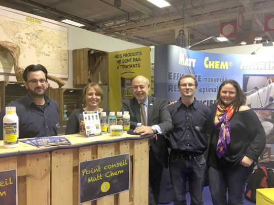 Stand Matt Chem au Nautic-2016