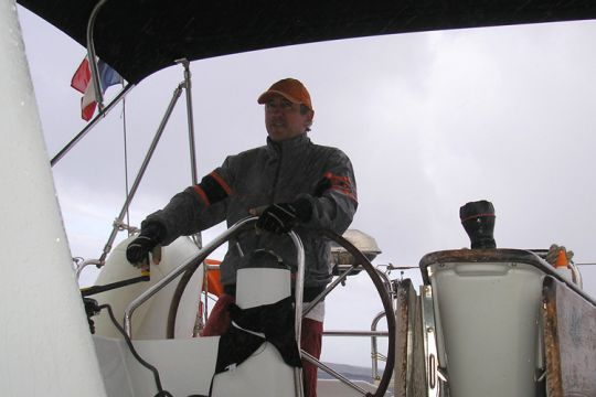 Jean-Pierre Fréry Cavok tour du monde sur un Lagoon400S2