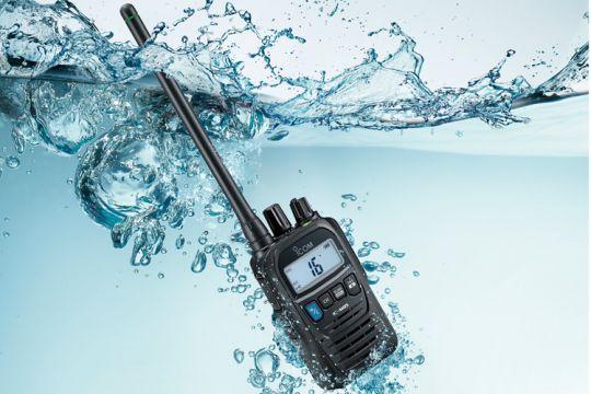 VHF portable Icom-IC-M85E