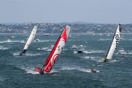 volvo ocean race 2018 : c'est parti pour la plus longue
