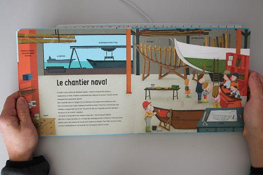 Les Bateaux - Mon premier Doc-Puzzle - Editions Glénat Jeunesse