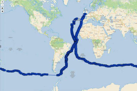 Maxus 22 autour du monde sans escale