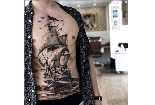 Tatouages De Marins Les Symboles Du Monde Maritime
