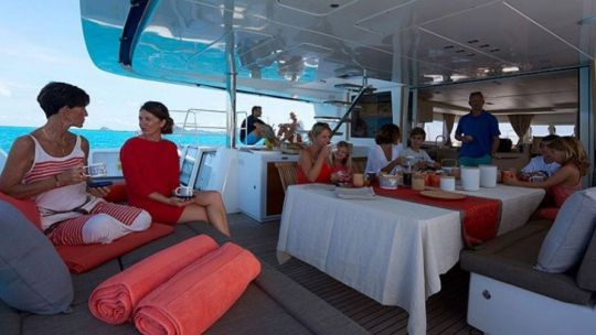 Dream Yacht charter Location à la cabine