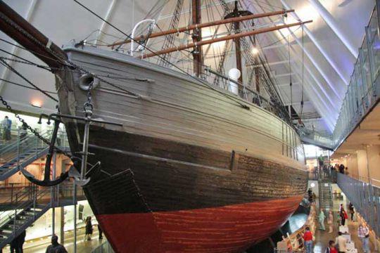 Goelette Fram de Amundsen