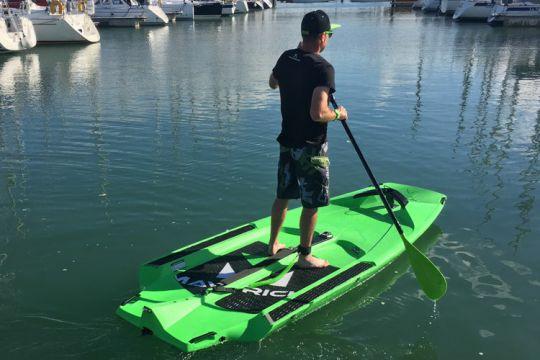Maverick Un Deriveur Paddle Windsurf Tout En Un