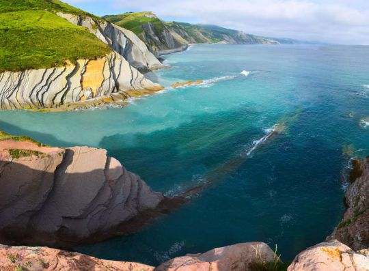 Les sentiers de la mer