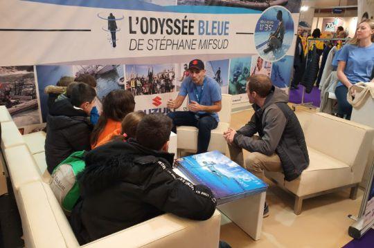 Stéphane Mifsud L'Odyssée Bleue