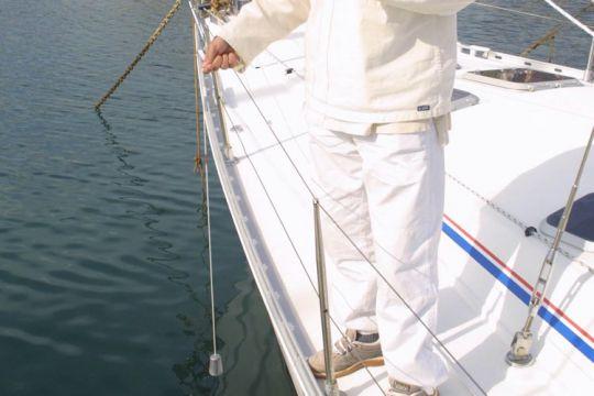 Etalonner son sondeur sur un voilier