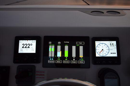 L'électronique en appuie du pilotage.
