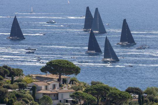 Les voiles de saint-Tropez © Gilles Martin-Raget