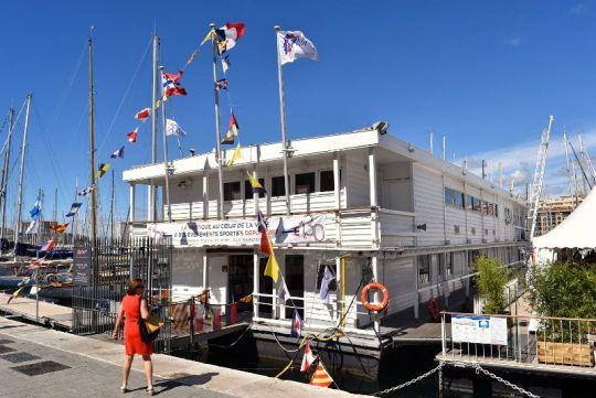 Pavillon flottant de la SNM