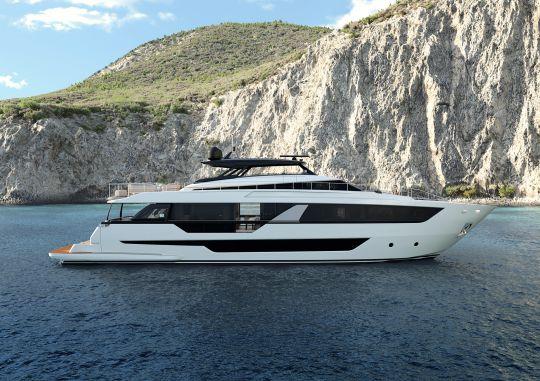 Le nouveau Ferretti Yachts 1000