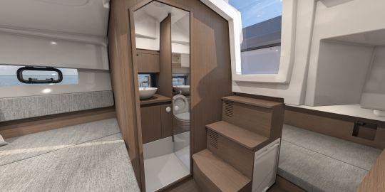 Cabinet de toilette du Flyer 9