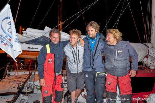 L'équipage de Ian Lipinski vainqueur de la Drheam Cup