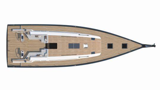 Plan du First Yacht 53