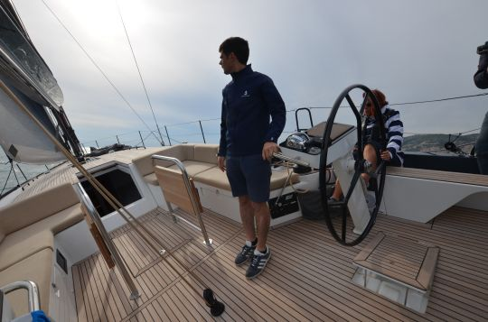 Navigation à bord du First Yacht 53