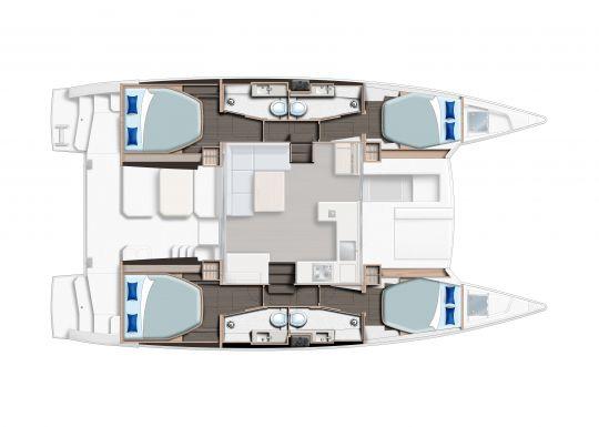 Version 4 cabines