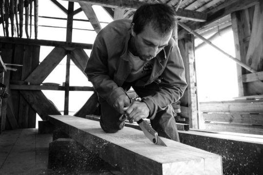 Julien Gratiot, fondateur d'Organic Boats
