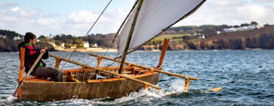 1ères navigations du Palatto d'Organic Boats