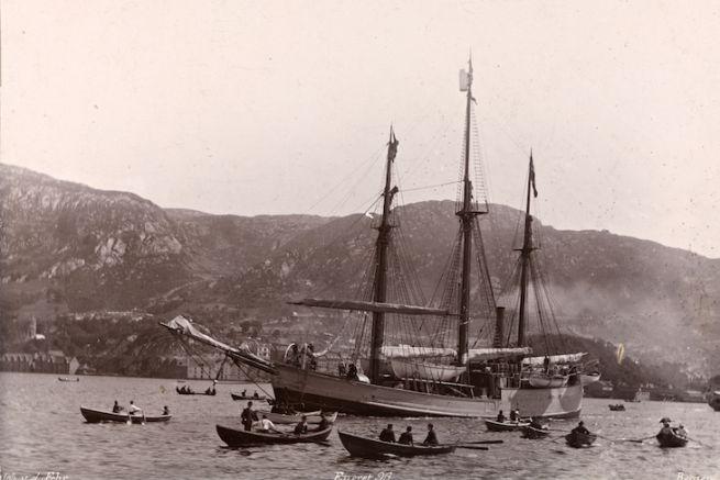 Départ du Fram en 1893