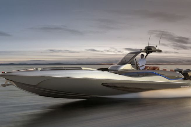 Hawk 38, dayboat sportif du chantier Sunseeker