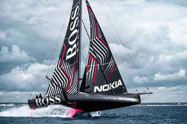 L'IMOCA Hugo Boss