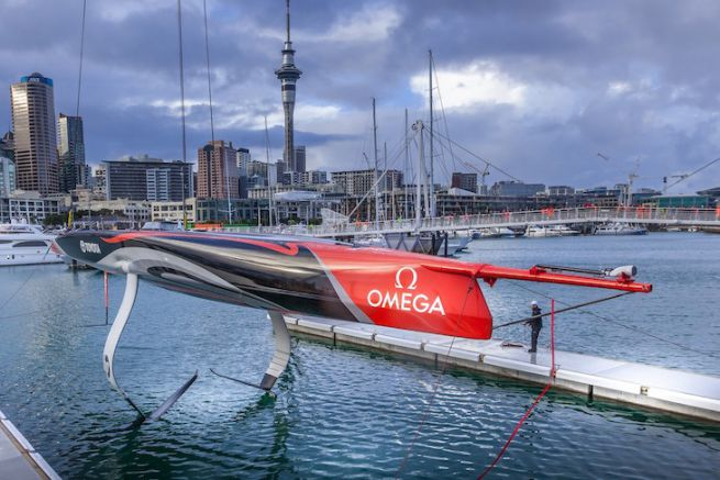 L'AC75 d'Emirates Team New Zealand