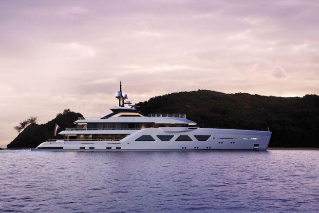 Amels 60, un design reconnaissable et optimisé pour ce nouveau superyacht