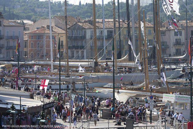 Le port de Saint-Tropez © Gilles Martin-Raget / Voiles de Saint-Tropez 2014