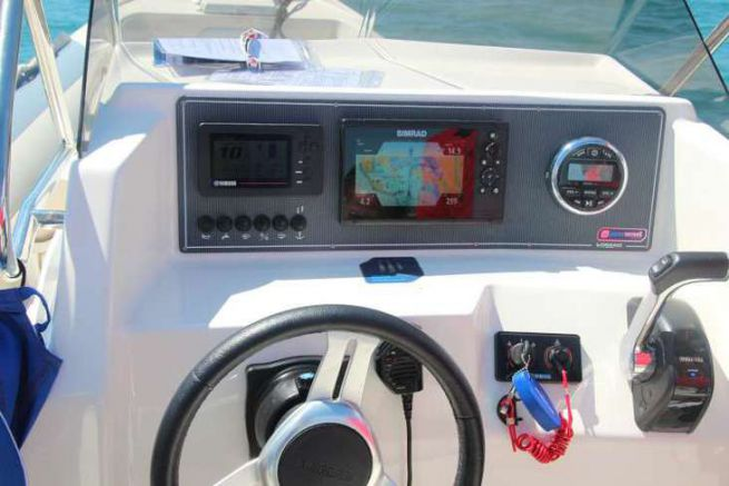 Simrad Cruise à l'essai à Palma de Majorque