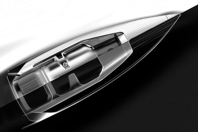 Croquis de design du Tofinou 9.7 par Peugeot Design
