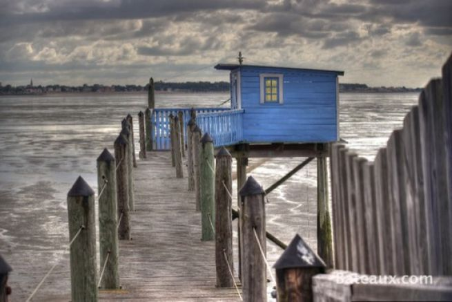 les cabanes carrelet du littoral charentais. Black Bedroom Furniture Sets. Home Design Ideas