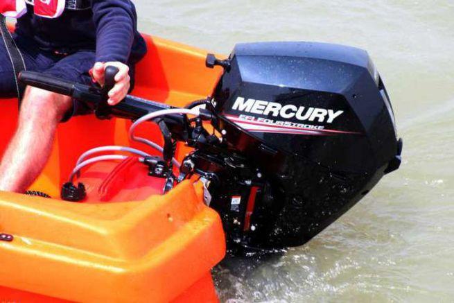 Injection sur un Mercury 20 ch