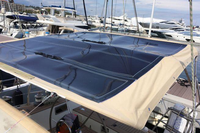 Bimini solaire de SolarCloth System