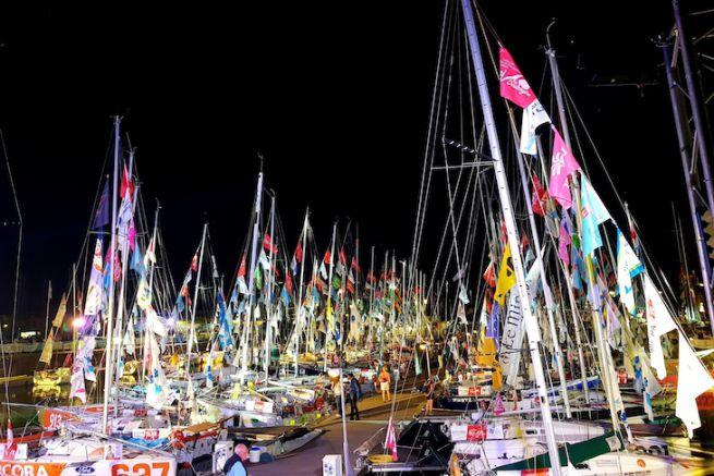 Les pontons de La Mini Transat La Boulangère La Rochelle