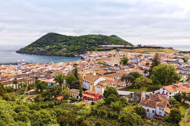 L'île de Terceira