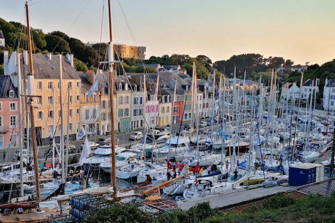 Arrière port du Palais à Belle île en Mer