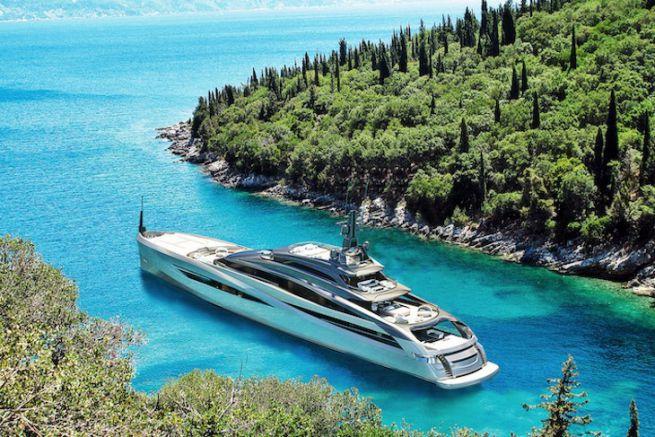 Infinity, nouvelle gamme de superyachts de Rossinavi