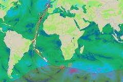 Cartographie unique des Tours du Monde