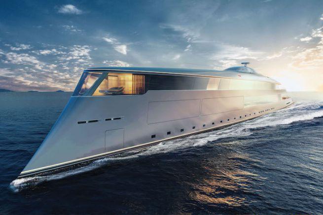 Le superyacht Aqua de Sinot Yacht