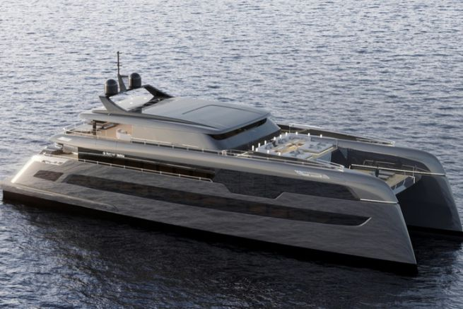 Le catamaran custom de 49 m construit par Sunreef Yachts