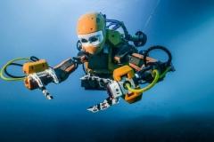Le robot humano�de Ocean One
