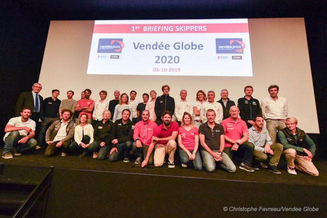 Le plateau du Vendée Globe 2020