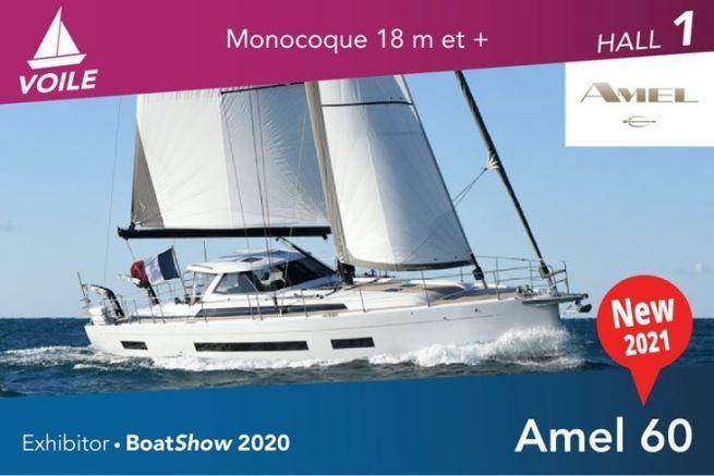 Amel 60, croiseur de luxe à la française