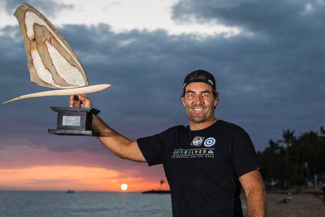 Antoine Albeau, champion du monde de funboard pour la 24ème fois !