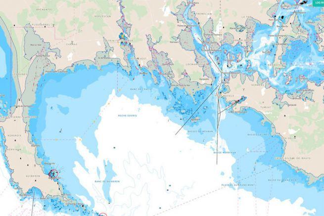 Toute la cartographie C-Map accessible sur les mobiles