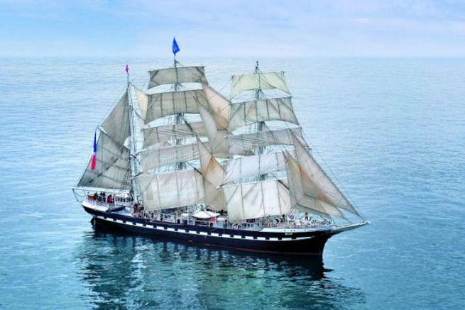 Le Belem, un trois-mâts barque
