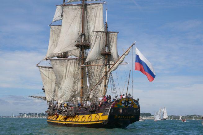 Le voilier russe Shtandart